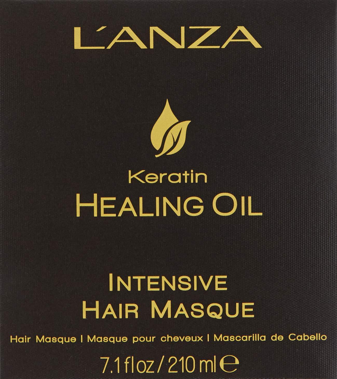 L'ANZA Keratin Healing Oil Intensive Hair Masque, 7.1 oz. by L'ANZA (Image #4)