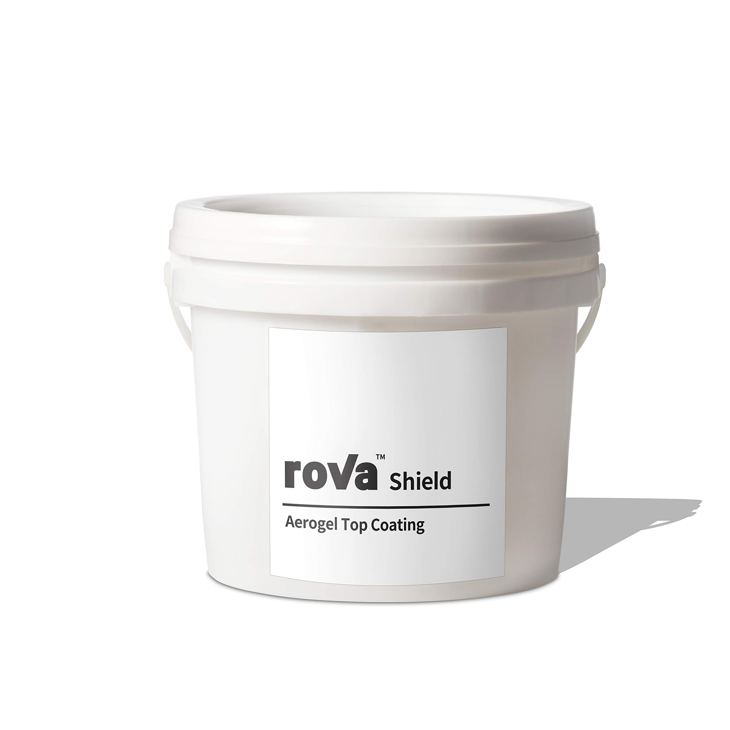 roVa Shield Aerogel Top Coating, Color White 1 Quart (1 Liter) by roVa