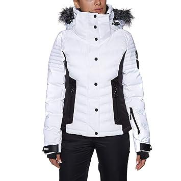 1a46dc191ec Superdry Veste De Ski Luxe Snow Puffer Optic  Amazon.fr  Sports et ...