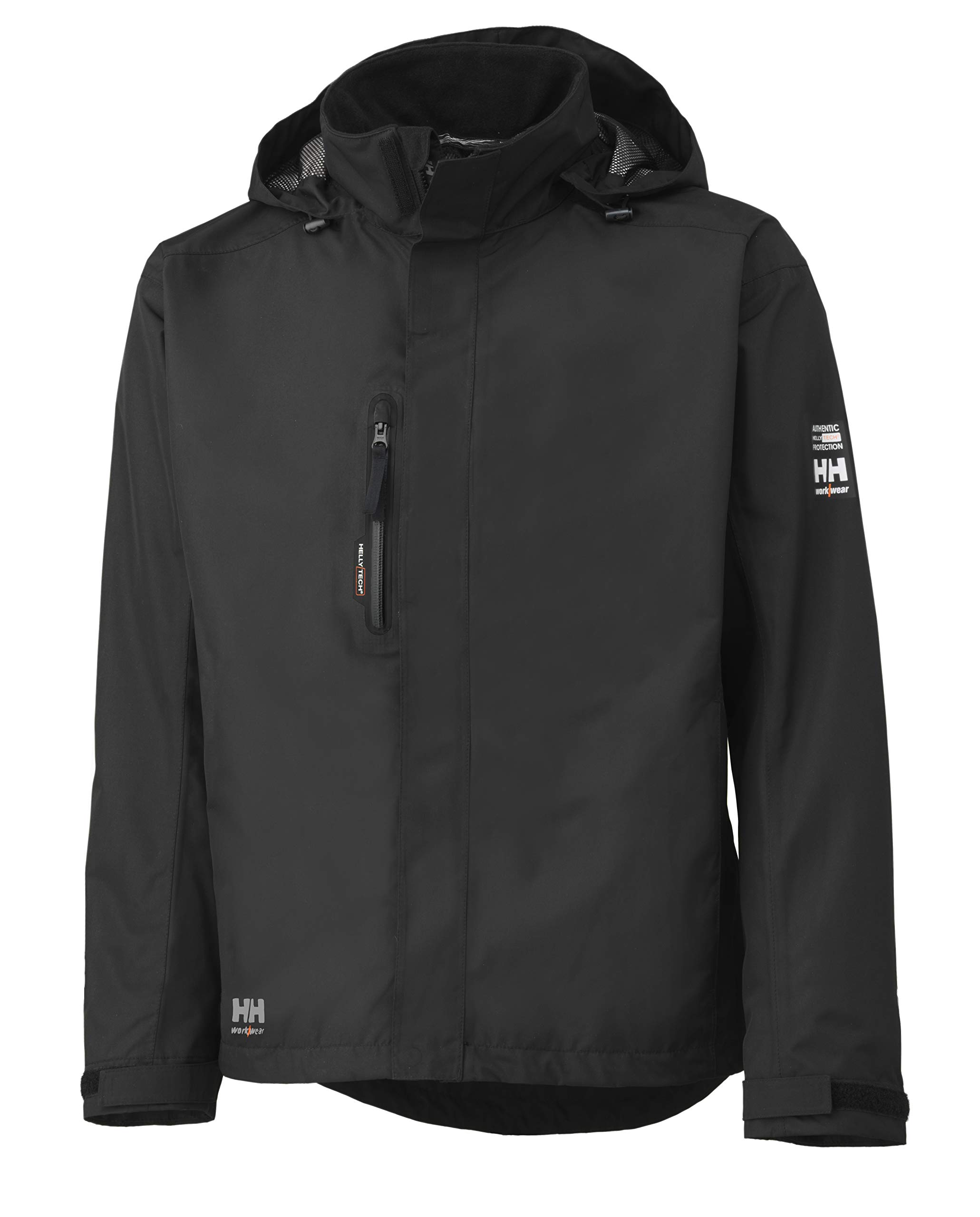 Helly Hansen Work Wear Men's Haag Jacket, Black, 3X-Large