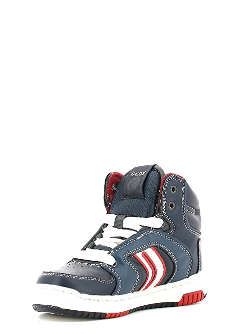 GEOX Enfants-ORACLE-BASKET LACET-NAVY mllF7