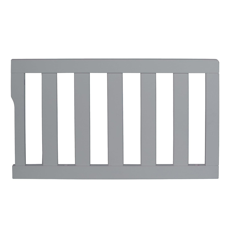 Dream On Me Universal Convertible Crib Toddler Guard Rail Cool Grey
