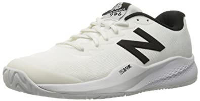 New Balance Mens mc996v3 Tennis Shoe White/Black 7.5 ...