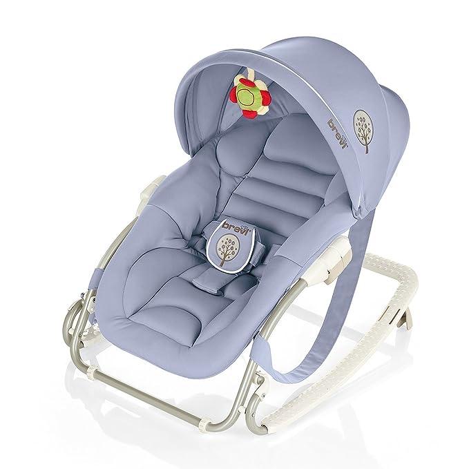 Brevi Gaia Lila mecedora y silla para bebés - Mecedoras y ...