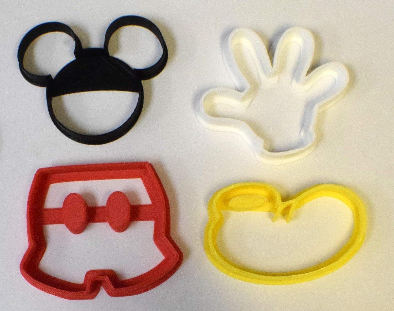 Cartoon Logo 115 Cookie Cutter Set