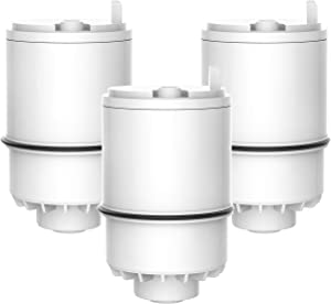 Waterdrop RF 3375 Water Filter, Compatible with Pur RF-3375 (RF33752V2) Faucet Water Filter (Pack of 3)