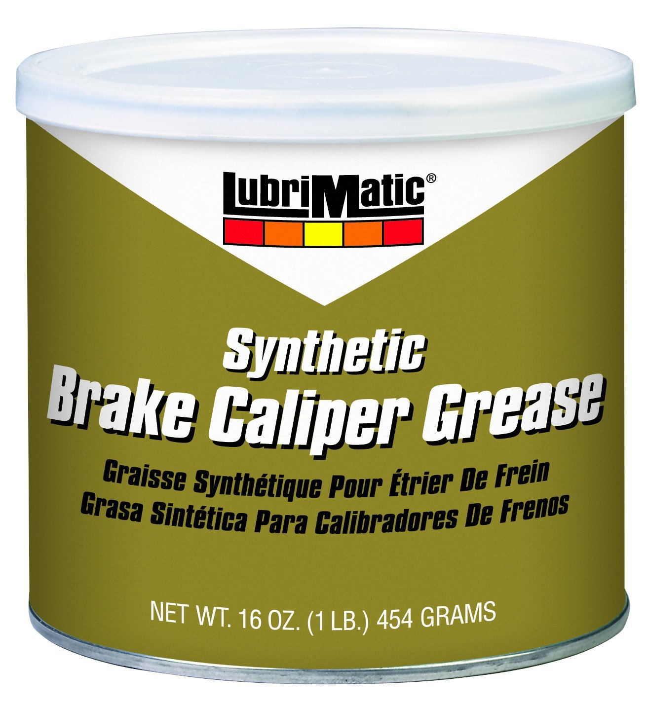 LubriMatic 11752 1 Pack Synthetic Brake Caliper Grease, 16 oz. Can