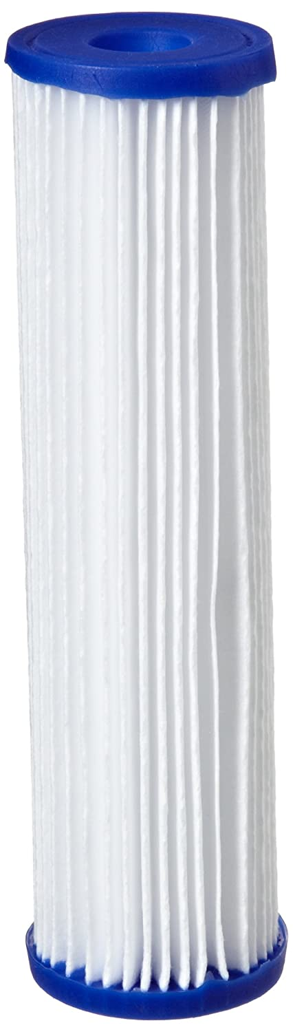 Pentek R30 Pleated Polyester Filter Cartridge 9 3 4 x 2 5 8 30 Microns