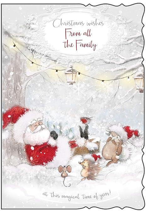 Auguri Di Natale Famiglia.Simon Elvin Da Tutta La Famiglia Di Auguri Di Natale Traditional