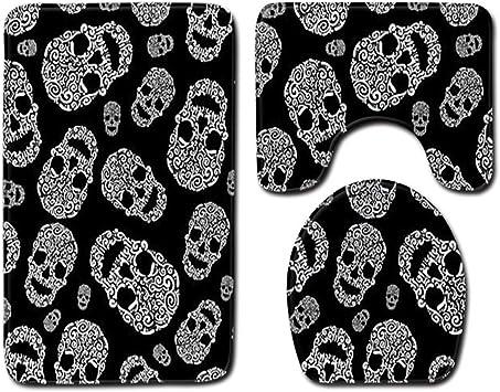 acheter tapis de bain tete de mort online 4
