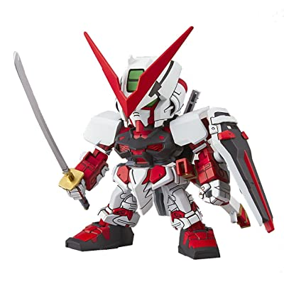 "Bandai Hobby SD EX-Standard 007 Astray Red Frame ""Gundam Seed Astray"" Building Kit: Toys & Games"