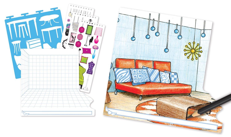 amazoncom fashion angels interior design sketch portfolio toys games