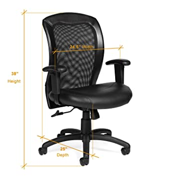 most comfortable computer chair. Most Comfortable Computer Chair ~ 5 Way Adjustable Office B