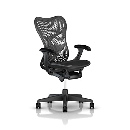 amazon com herman miller mirra 2 chair std tilt fixed arms
