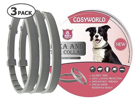 Amazon.com: COSYWORLD 3 unidades de collar de pulgas y ...