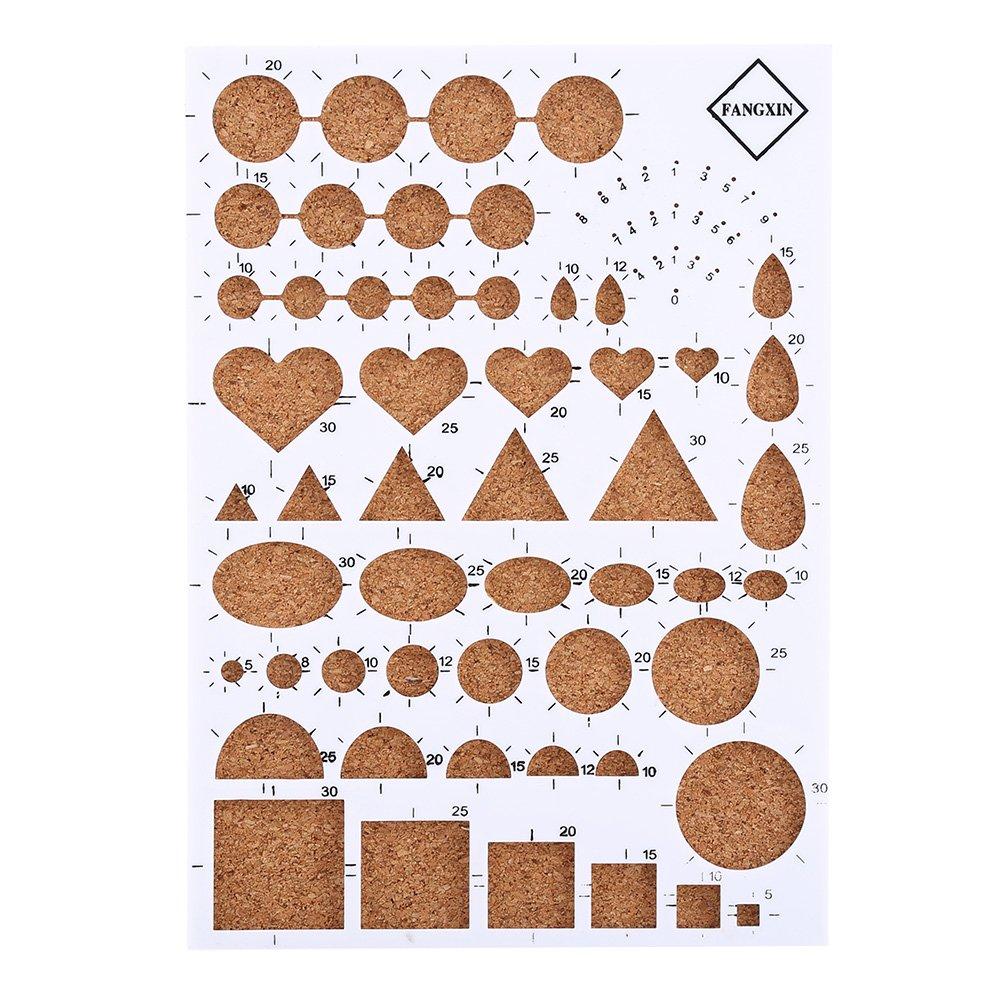 Kit de 19pcs Outils de Paperolles Quilling Paper pour DIY Art du Papier Loisirs Cr/éatifs Couleurs Al/éatoires