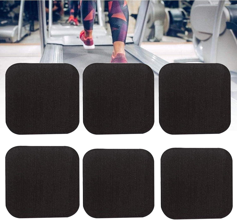 Alfombras Antivibracion Lavadora y Secadora MNBVH Esterilla Maquinas Fitness 6 Pack Alfombra Cinta de Correr Antideslizante Alfombra de Protector Suelo