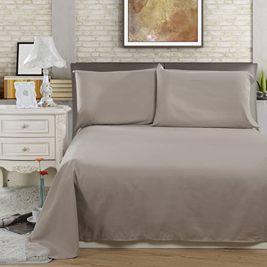 Wrinkle One Fitted Bed Sheet Fade Lullabi Bedding Microfiber Twin, Black Stain Resistant Double-Side Brushed Finish