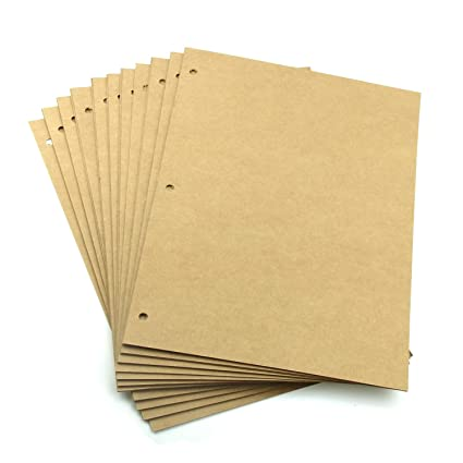 Black Refill Pages for Scrapbook Album... XIUJUAN Scrapbooking Paper 26 x 18cm