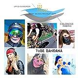 Seamless Bandana Tube Sun Face Mask Winter Biker