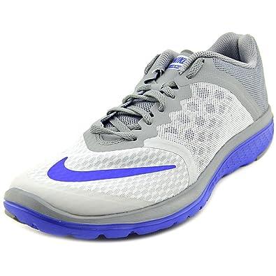 online store 556c7 c9f85 Nike Men's FS Lite Run 3 Grey Running Shoes