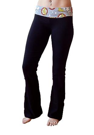 Amazon.com: Bioworld Wonder Woman para mujer Yoga pantalones ...