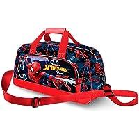 Karactermania Spiderman Hero-Pocket Sports Bag Sac de Sport Enfant, 45 cm, Bleu (Blue)