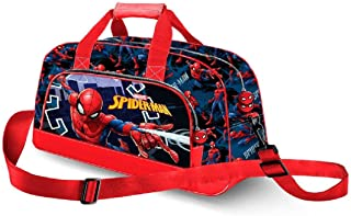 Karactermania Spiderman Hero-Pocket Sports Bag Borsa sportiva per bambini, 45 cm, Blu (Blue)