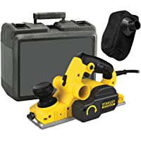 STANLEY FATMAX FME630K-QS - Cepillo eléctrico madera 750W, incluye 2 hojas y maletín