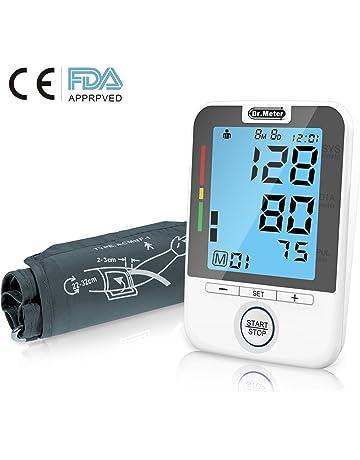 Dr.Meter bpm100 FDA Certification - Tensiómetro Electrónico Brazo Monitor de Presión Arterial del Brazo