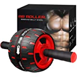 Ab Roller Wheel Workout Equipment - Ab Roller Wheel for Abdominal Exercise,Home Workout Equipment,Perfect Fitness Ab…