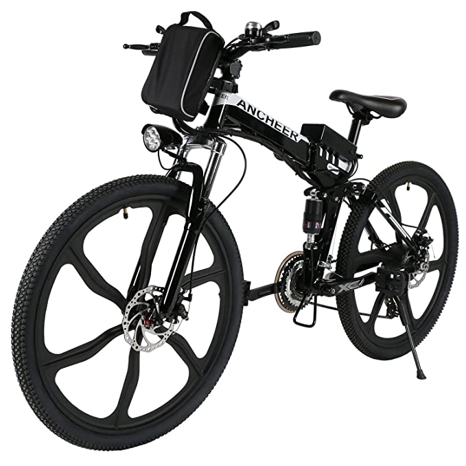 Teamyy bicicleta elctrica plegable de montaa