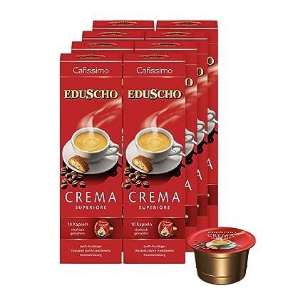 4ef3271addd2d9 Tchibo Eduscho Cafissimo Crema Superiore Kapseln, 80 Stück: Amazon ...