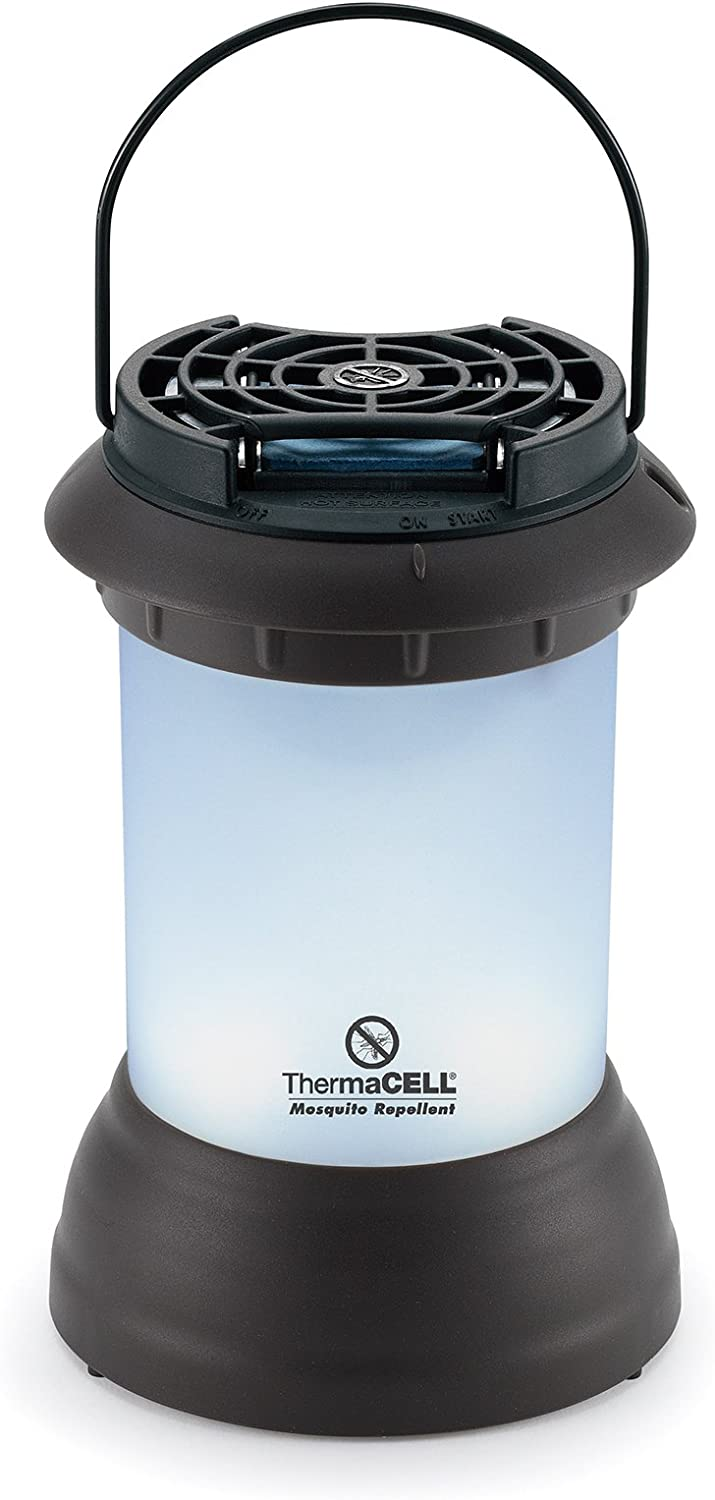 ThermaCELL MR-9SB Mosquito Repellent Pest Control Outdoor and Camping Cordless Lantern , Dark Bronze