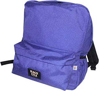 product image for backpack H2O single with two side pockets, one front pocket Made in USA. (Purple)