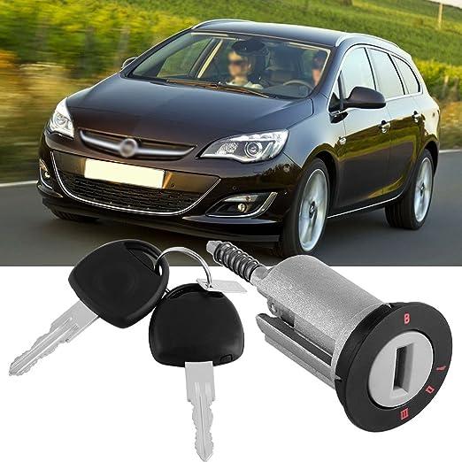 Amazon.com: Qiilu Car Ignition Lock Barrel with 2 Keys for VAUXHALL ASTRA CORSA ZAFIRA MERIVA TIGRA COMBO: Electronics