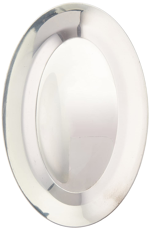 Winco APL-10 Aluminum Sizzling Platter, 10-Inch 85586