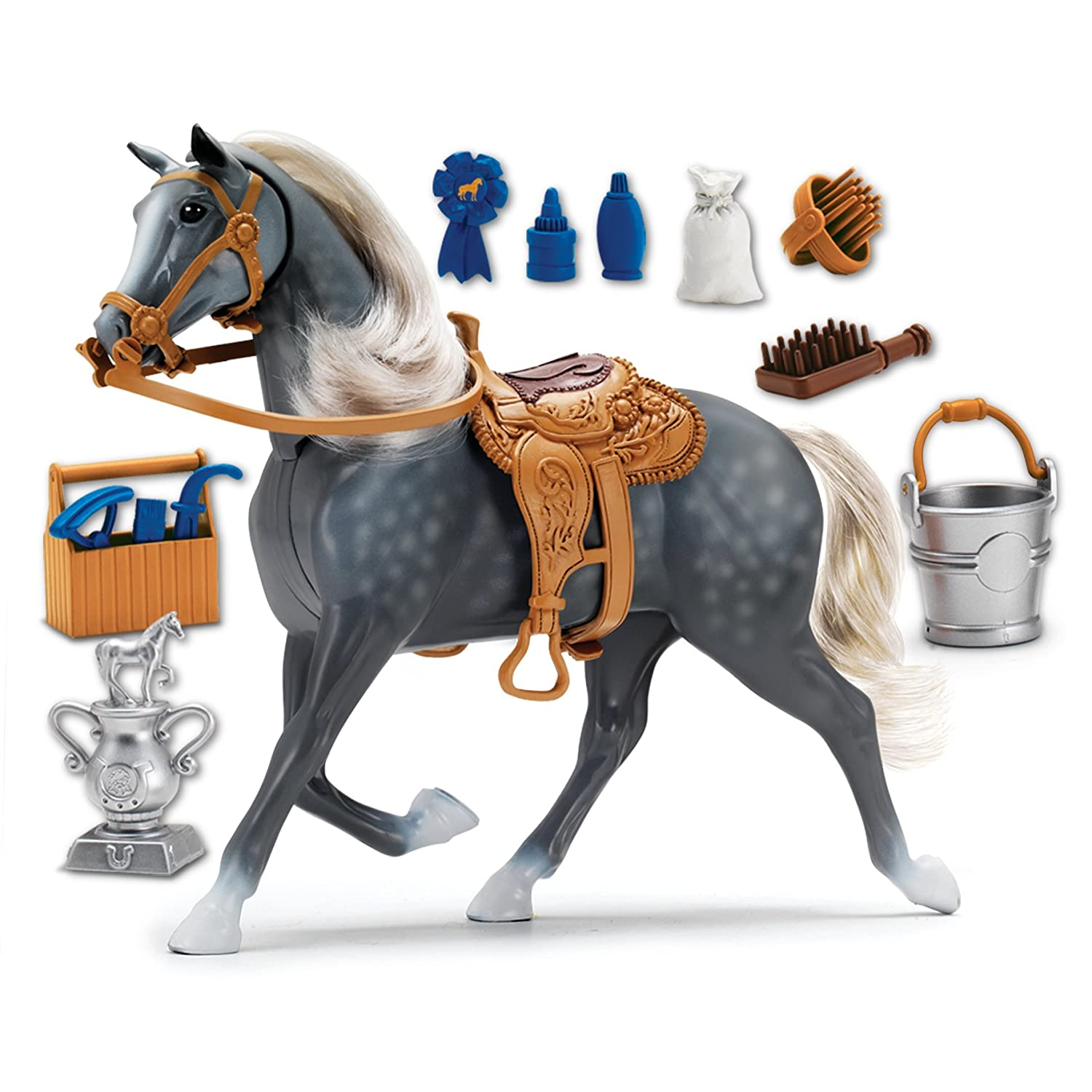 Deluxe Horse Morgan Toy Kids Play Set Grooming Girls Boys Sounds