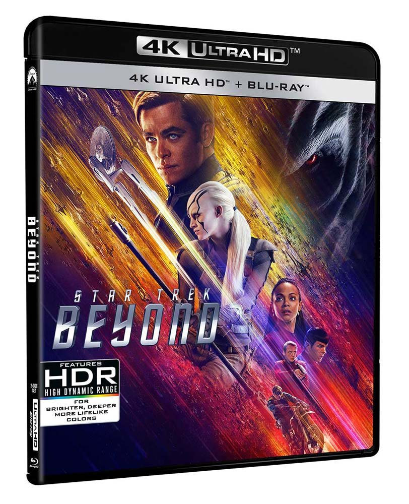 Star Trek Beyond Blu-ray 4K UHD