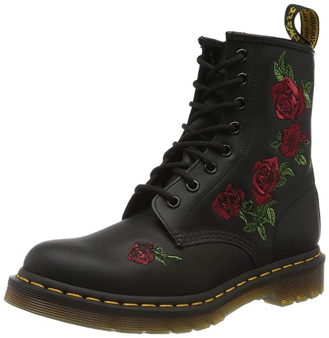 crocs Dr. Martens, Zapatos de Escalada para Mujer, Negro (Black Black), 37 EU