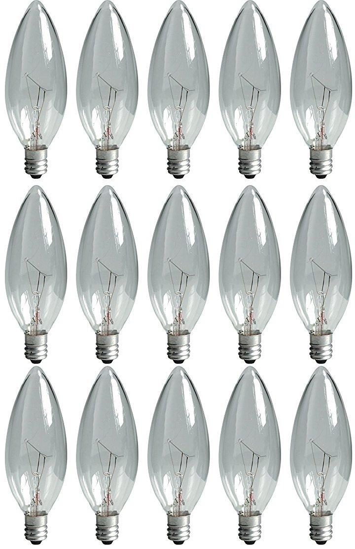 GE Lighting 75257 電球 クリスタルクリア 20 Pack 75031 1 B00A7MG55U Clear Blunt Tip 20-Pack|40W;Cac;280ルーメン  Clear Blunt Tip 20-Pack
