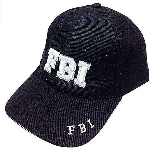 SNY Mens FBI Baseball Cap Hat at Amazon Men s Clothing store  5dbf614947e