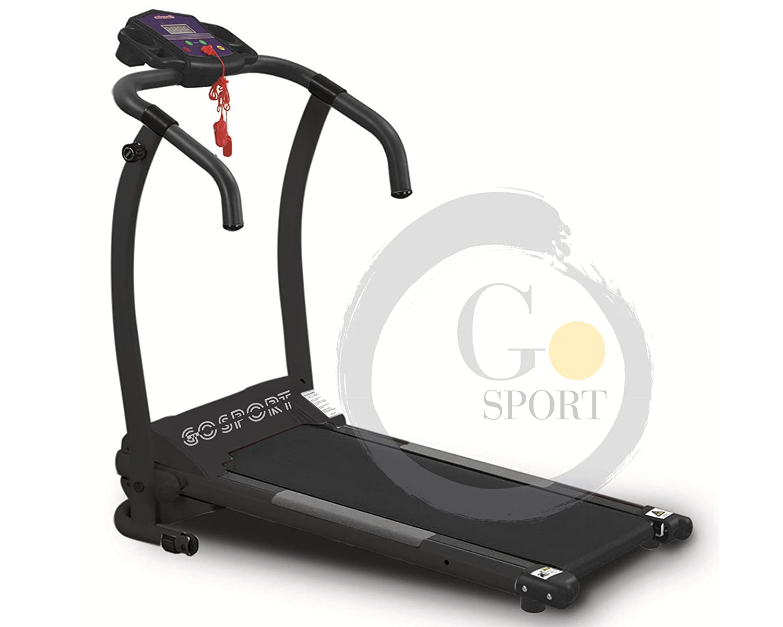 Go Sport - Cinta de correr eléctrica Plegable, Sin Sensor Cardio ...