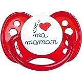 Luc et lea - Sucette symétrique j'aime ma maman 6 mois +