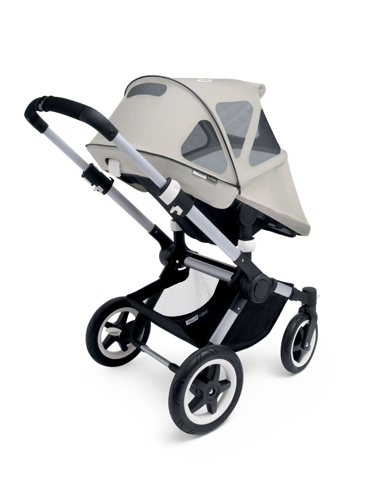 Bugaboo Buffalo Breezy Sun Canopy, Artic Grey