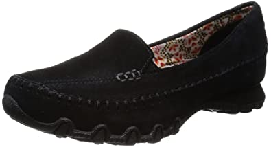 SKETCHERS RELAXED FIT MEMORY FOAM SLIP ON MOCCASINS WOMEN'S 8M