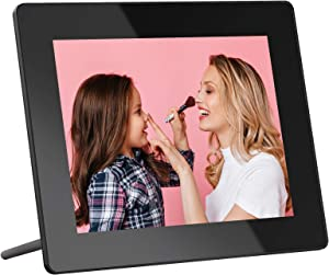 Dragon Touch Digital Picture Frame, 8-Inch Wi-Fi Digital Photo Frame with IPS Touch Screen HD Display, 16GB Storage, Share Photos via App, Email, Cloud, Support USB Drive/SD Card - Classic 8