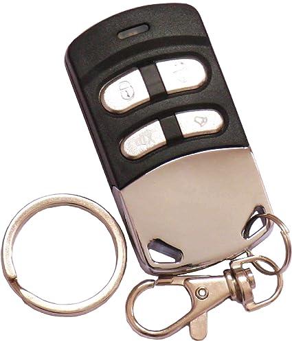 Funkhandsender 433.92 und 868.35 robust, langlebig, elegant geeignet für Garagentore. Dieser Garagentoröffner ersetzt bis zu 4 Funk Fernbedienungen und ist geeignet für Türen, Sektionaltor Garagen, Videoüberwachung, Rollotore, Alarmanlagen, Funksteckdosen, Funk-Schaltern, Bewegungsmelder, usw. dieser Universal Handsender deckt einen breiten Frequenzbereich ab und kann auch diverse Rolling Codes verarbeiten.