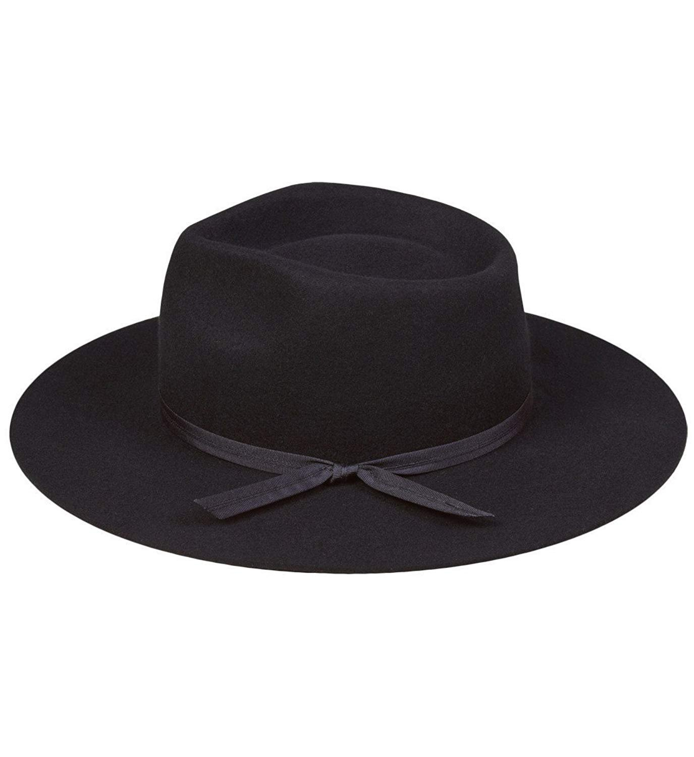 Lack of Color Unisex The Jethro Fedora (Black, SM (55cm)) by Lack of Color (Image #3)