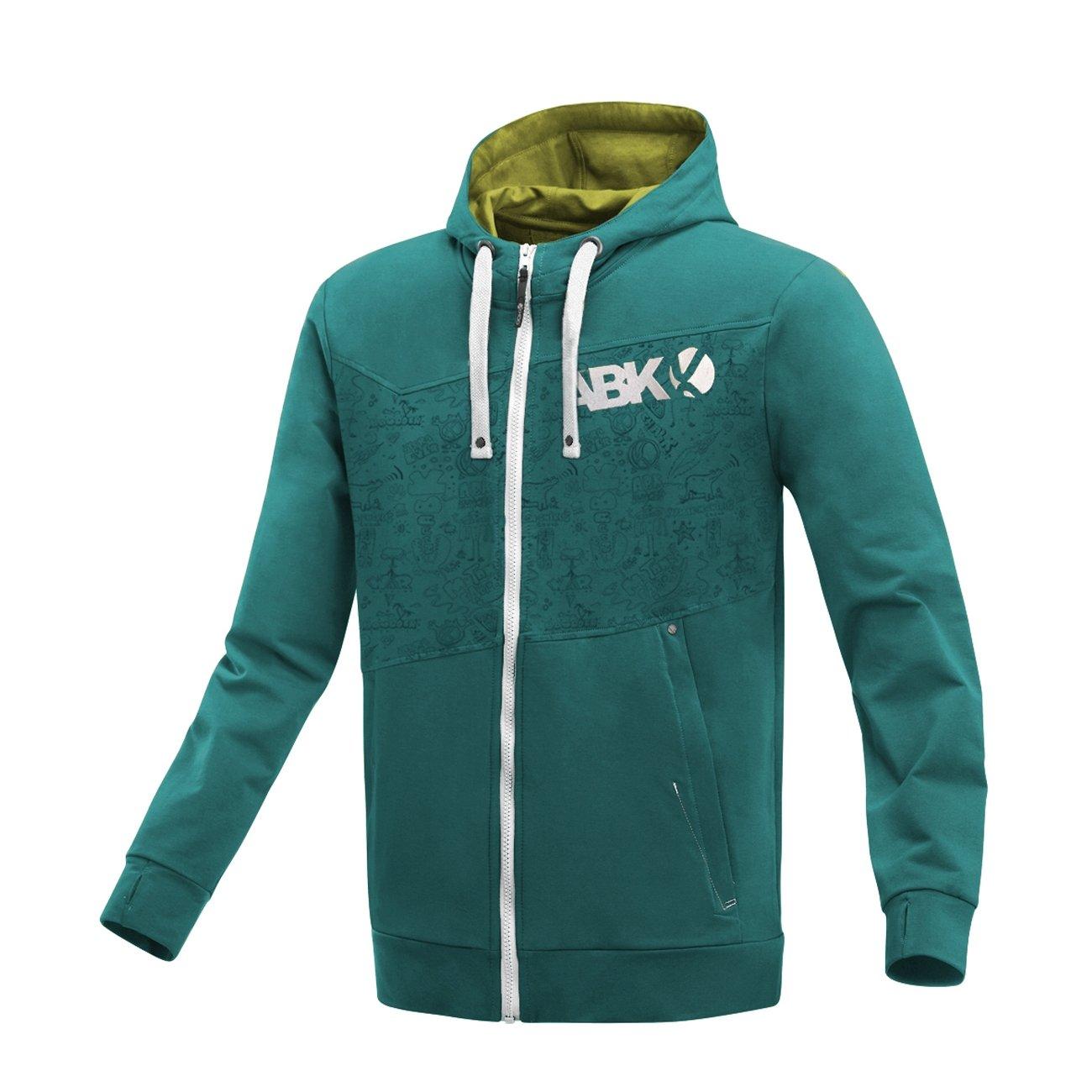 ABK Buttermilk GRAF Sweatshirt mit Reißverschluss und Kapuze, Herren